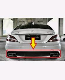 Mercedes cls rear bumper Difusor