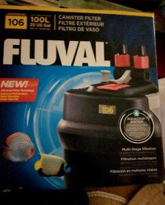 Fluval 106 Canister Filter System for Aquariums