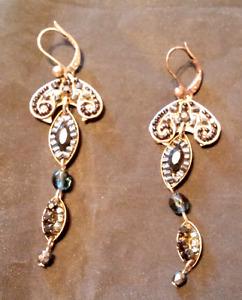 ADAYA Jewellery Bijoux Swarovski Crysatal Earrings