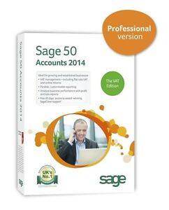Sage 50 Accounts 2014 Professional VAT Edition Single User  V20.00
