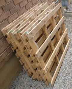 Wood Pallet - Shipping Building Materials - 9 PALLETS
