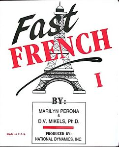 Fast French by Marilyn Perona & D.V. Mikes, Ph.D West Island Greater Montréal image 1
