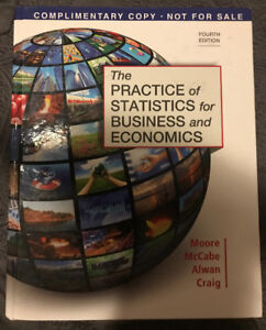MATH 1532- The Practice of Statistics for Business and Economics