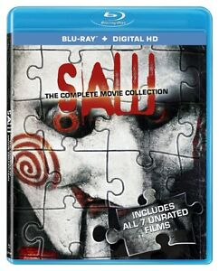 BLU-RAY! SAW THE COMPLETE BOX SET 7 MOVIES London Ontario image 1