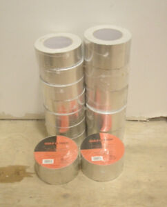 """14 Rolls of Heavy Duty Foil HVAC Duct Tape 2"""" and 3"""""""