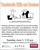 Your Transferable Skills and Resume at EEC!