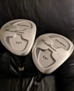 Golf Fairway woods - 3 & 5 woods Tommy Armour