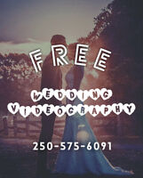 FREE WEDDING VIDEOGRAPHY AVAILABLE THIS WEEKEND