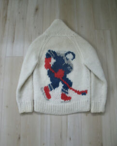 Vintage wool hockey sweater