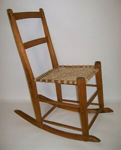 Chaise Bercante Capucine Antique - Antique Rocking Chair