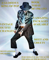 Michael Jackson Tribute Artist for hire