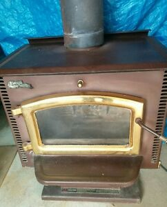 Pedistal Wood stove
