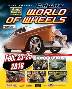 2018 Calgary World of Wheels