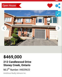 House for sale  ,new price