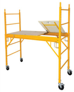 6' Baker Scaffold with trap door for $239.00 (6030 50 Street