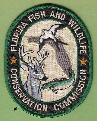 FLORIDA FISH AND WILDLIFE CONSERVATION COMMISSION PATCH