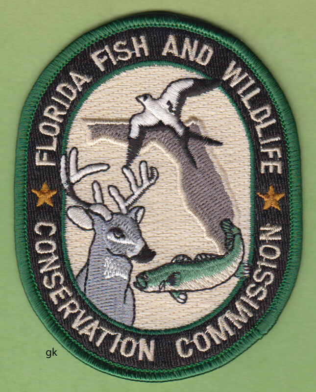 FLORIDA FISH AND WILDLIFE CONSERVATION COMMISSION SHOULDER PATCH