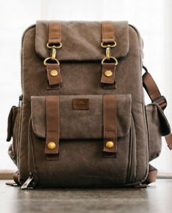 Roots 73 flannel collection camera backpack bag sac