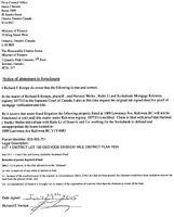 Predatory lenders NOTICE