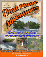 Floatplane Remote Areas of Nova Scotia