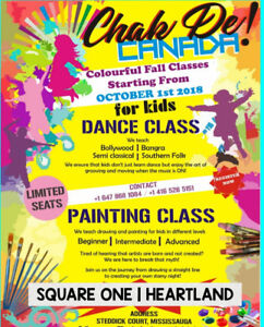 Kids | Adults | Dance Bollywood |  Mississauga Square one