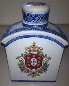 Porcelain Hand Painted Decanter
