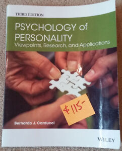 """Psychology of Personality"""" (3rd Ed.) RDC Textbook"""