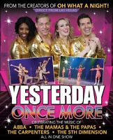 """""""YESTERDAY ONCE MORE"""" IS COMING TO VICTORIA"""