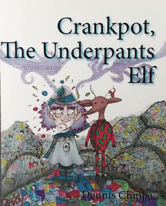 Crankpot the Underpants Elf is now for sale!