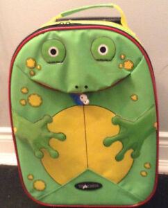 Kids rolling suitcase luggage