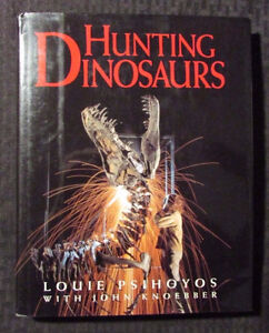 History of DINOSAURS hard cover book