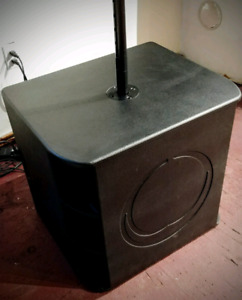 "Turbosound Milan M15B 2200 Watt 15"" Powered Subwoofer"