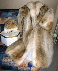 Beautiful and Warm Wolf fur Coat for your special lady! West Island Greater Montréal image 1