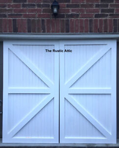 Handcrafted Sliding Barn Doors & Soft Close Bypass Hardware