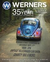 WERNER'S AUTO SALES AND SERVICE 35th Anniversary Celebration