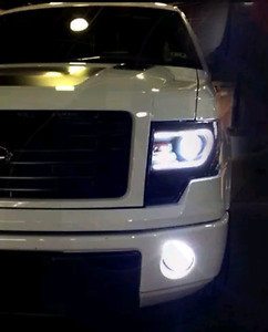 FORD F150 L.E.D. FOG LIGHTS - ALL YEARS IN STOCK