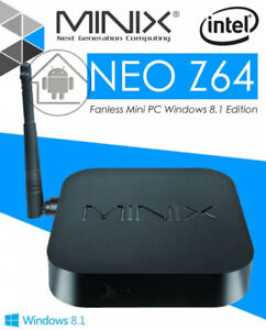 Minix Neo Z64 with 2GB RAM 32GB-125$