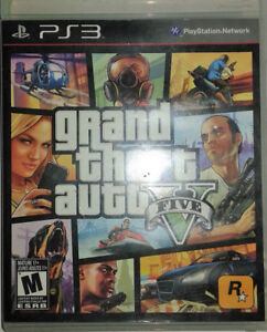 Grand Theft Auto V (GTA 5) pour console PlayStation 3