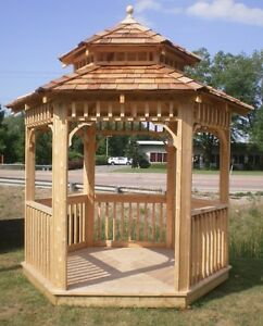 Custom sheds, gazebos, and outdoor furniture
