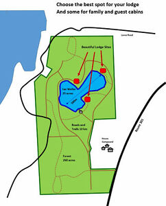 Exclusive Private Lake and Forest Gatineau Ottawa / Gatineau Area image 2