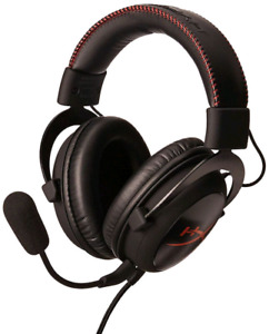 Hyper X Cloud Gaming Headset with accessories