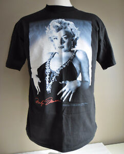 NEW Marilyn Monroe Men's XL Black T-Shirt