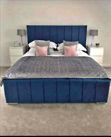 Brand New Hilton bedframe with 10 inch Mattress (Free shipping)