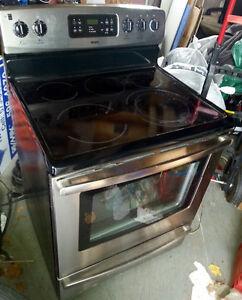 5 burner stainless stove