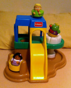 Playskool  Weeble Playground playset