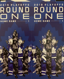 Toronto Maple Leafs Round Playoff Tickets ALL GAMES -See Options