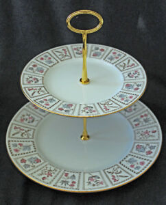 MINTON 2 TIER CAKE STAND - TAPESTRY