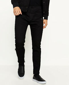 BRAND NEW Biker trousers with front zips