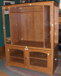 Entertainment Unit with Shelves Like New but reasonably priced!