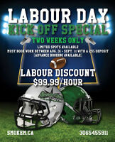 ****Labour Day Special****